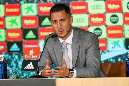 """Hazard: """"No soy un galáctico, soy Eden Hazard"""""""