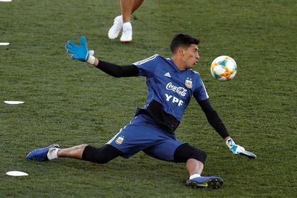 El portero argentino Esteban Andrada se pierde la Copa América por lesión