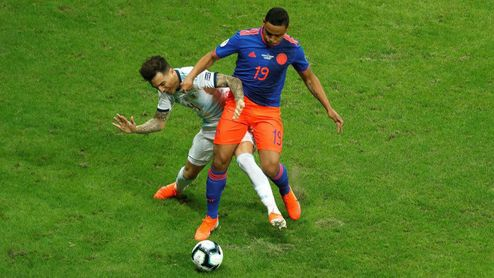Muriel se lesiona en la Copa América