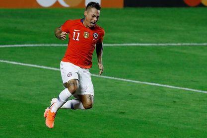Vargas bate récords en Chile y se acerca a los goleadores Méndez y Zizinho