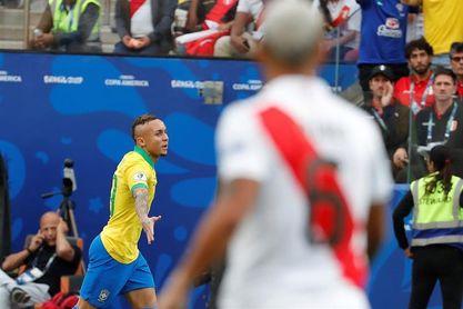 Everton 'Cebolinha', el nuevo ídolo de la selección brasileña