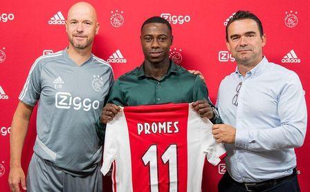 Promes ya posa como nuevo jugador del Ajax.