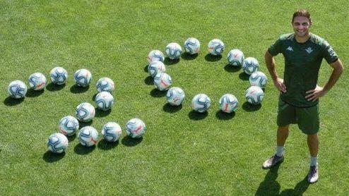 Joaquín celebra sus 20 temporadas como profesional