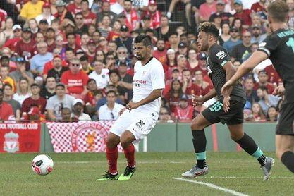 Nolito sigue dejando claro que quiere quedarse en el Sevilla FC.