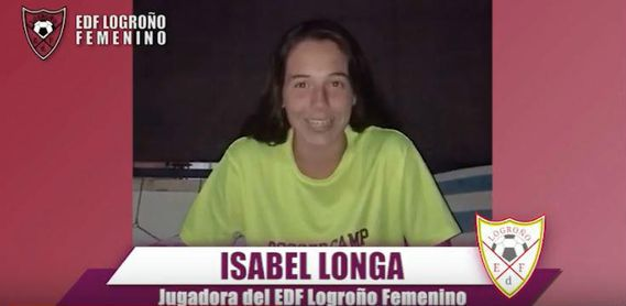 El EDF Logroño ficha a la guardameta Isabel Longa, procedente del Zaragoza