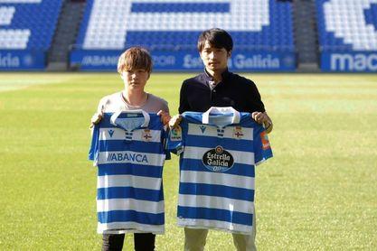 """Gaku Shibakasaki: """"Mi objetivo es el del equipo, subir a Primera"""""""
