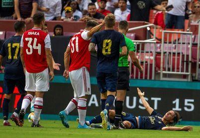 2-2 El Real Madrid remonta al Arsenal con gol de Bale y exhibición de Asensio