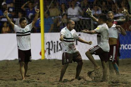 México derrota a El Salvador y se corona campeón de torneo de fútbol playa