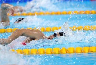 La fórmula Rasmus-Raab da a Estados Unidos oro y plata en 200 m estilo libre
