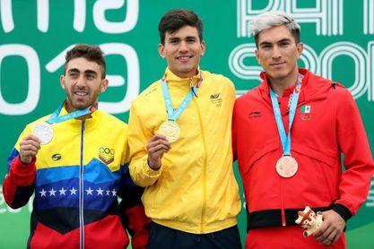 Colombia hace un pleno de oros en el patinaje panamericano de velocidad