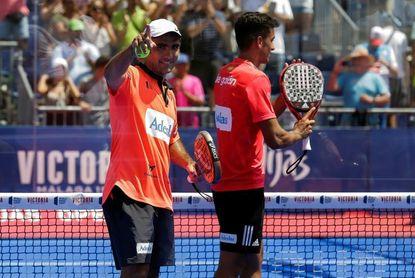 Pablo Lima y Ale Galán impusieron su veteranía ante los jóvenes Nieto y Rico