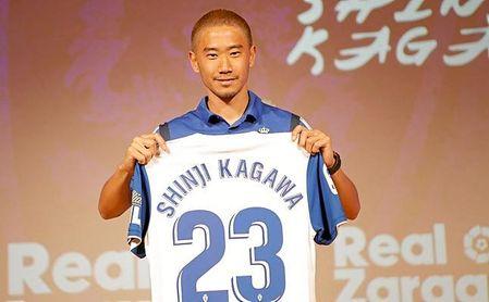 Kagawa es el fichaje bomba de la Segunda división.