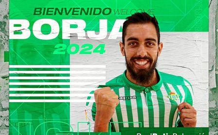OFICIAL: Borja Iglesias, nuevo jugador del Real Betis