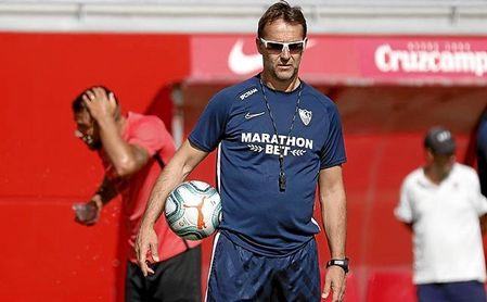 Lopetegui prepara su estreno en partido oficial con el Sevilla FC.