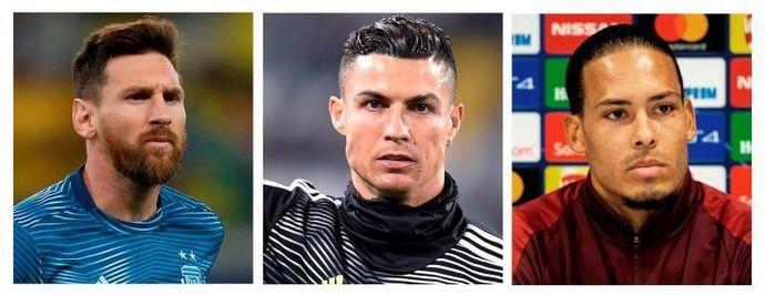 Messi, Cristiano y Van Dijk, nominados al Premio Jugador del Año de la UEFA