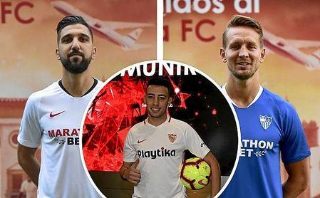 Munir, Dabbur y De Jong, si no llegase otro punta, cargarán con la responsabilidad del gol en la 19/20.