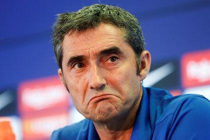 """Valverde: """"Estoy muy contento con la plantilla que tengo"""""""