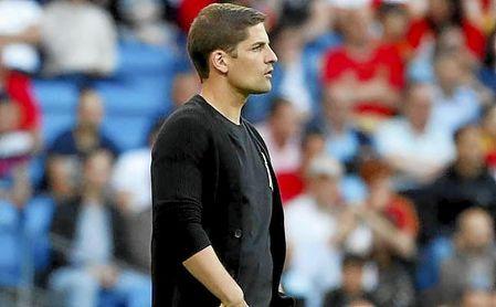 Robert Moreno, el seleccionador español.