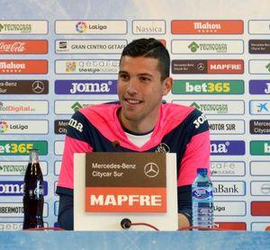 """Soria: """"El Atlético es muy completo, pero vamos con intención de ganar"""""""
