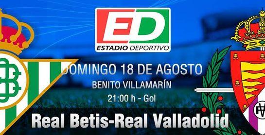 Real Betis-Valladolid: Síguelo en directo