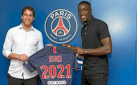 Encartan a la joven promesa del PSG Stanley Nsoki