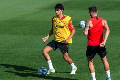 Llorente toma ventaja para el once; Morata hace una sesión individualizada