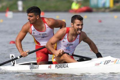 Los españoles Pedrero y Grana se cuelgan el oro en C2 200