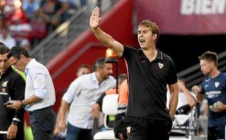 Lopetegui ha comenzado con buen pie en el Sevilla FC.