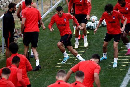 El Atlético, frente a la frustración