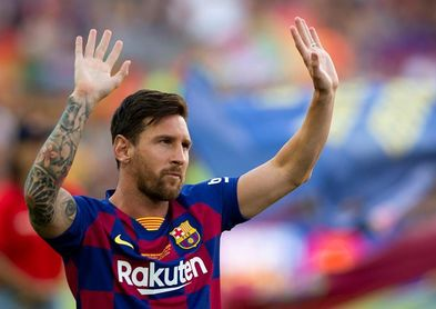 Messi sigue lesionado y no jugará contra el Betis
