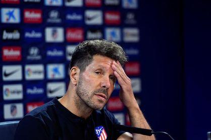 """Simeone: """"Diego Costa está trabajando para volver fuerte"""""""