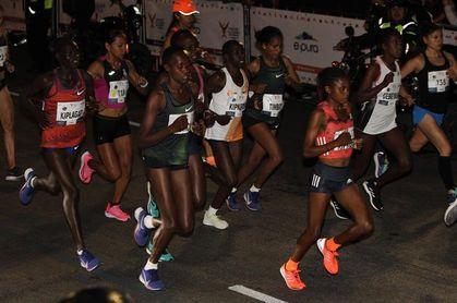 Los kenianos Kiplagat y Maio ganan el Maratón de la Ciudad de México