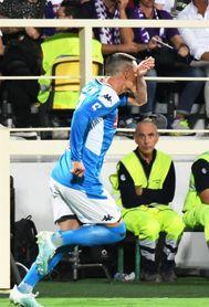 El Nápoles triunfa 4-3 en Florencia con golazo y asistencia de Callejón