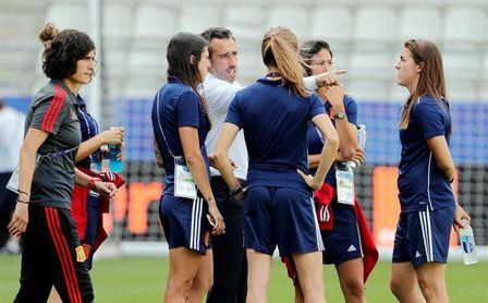 La selección española femenina vuelve a ponerse en marcha