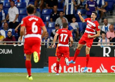 0-3. El Granada vapulea al Espanyol