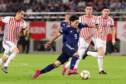 2-0. Una veloz Japón derrota a una selección paraguaya desorganizada