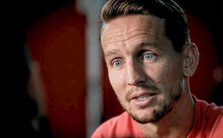 Luuk de Jong, durante la entrevista concedida a ED en la ciudad deportiva del Sevilla.