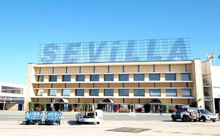 La mejora del Aeropuerto de San Pablo es otro de los argumentos con los que cuenta el Sevilla FC.