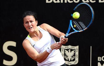 Lara Arruabarrena no pudo superar a la suiza Golubic en segunda ronda