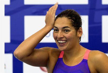 La tinerfeña Michelle Alonso, plata en 100 metros braza en el Mundial de Londres