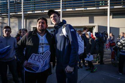 Ocho mundialistas desembarcan en Uruguay con un torneo internacional de la NBA