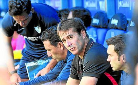El Sevilla FC de Lopetegui requiere algo más de cinco tiros a puerta para ver puerta.
