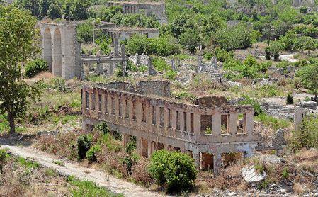 La ciudad de Agdam está hoy día en ruinas.