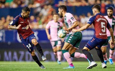 Osasuna 0-0 Betis: Otro punto de oro para un Betis de bisutería