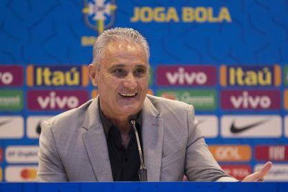 Tres novatos convoca Tite para los amistosos de Brasil con Senegal y Nigeria