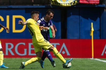 2-0. La mayor ambición del Villarreal le da el triunfo ante el Valladolid