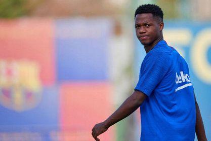 "El Sporting responde a las ""falsedades"" del padre de Ansu Fati"
