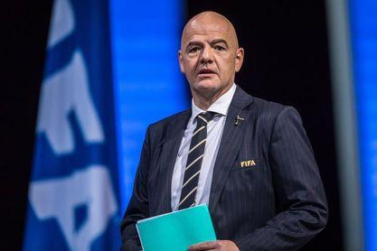 Infantino propone una Liga Mundial de las Naciones y un Mundial de clubes femenino