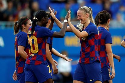 2-1. El Barcelona confirma su pase a los octavos de final sin sustos