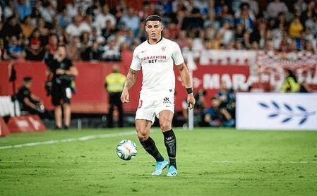 Diego Carlos, en el partido ante el Real Madrid.